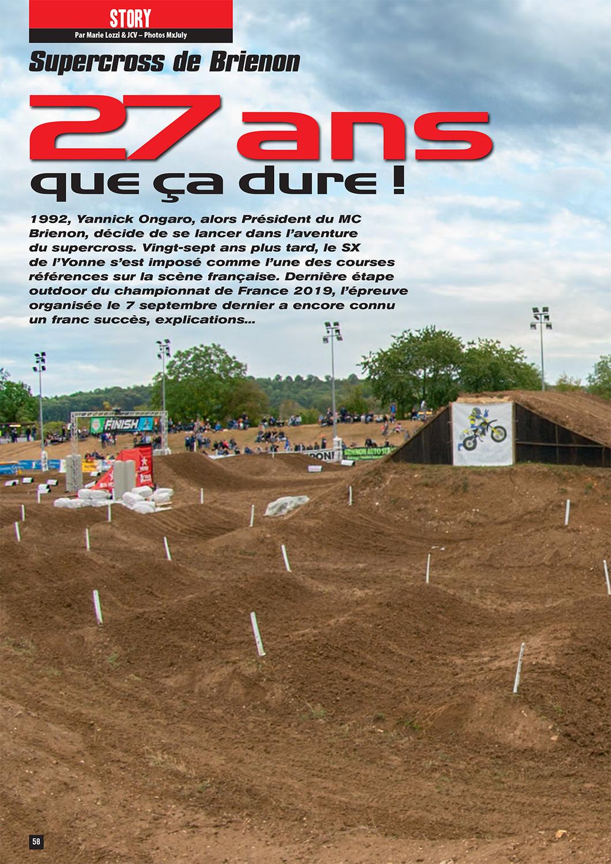 Page 1 sur le Supercross de l'Yonne 2019 - MX 261