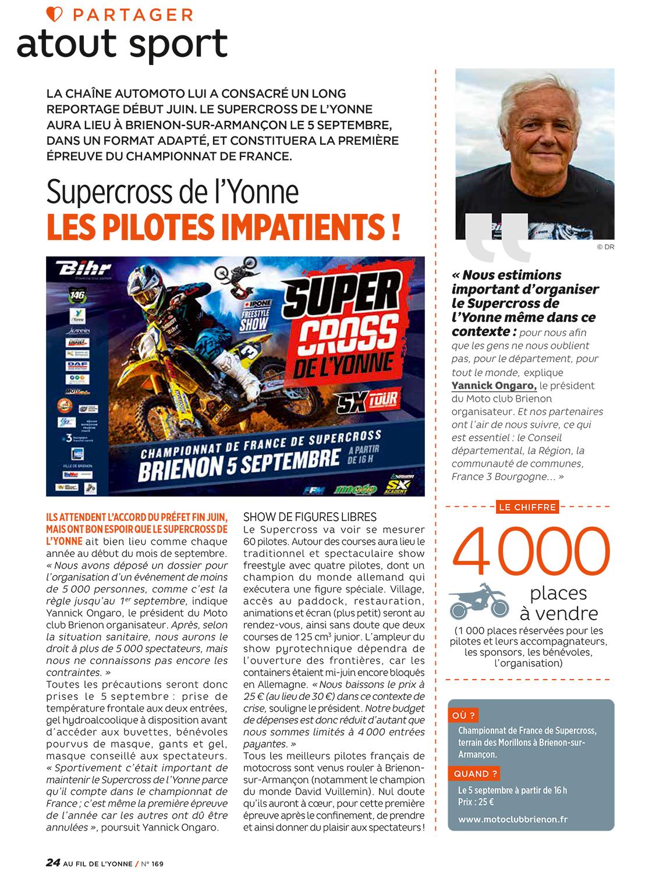 Supercross de l'Yonne 2020 - Fil de l'Yonne 2010 n°169