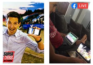 Supercross de l'Yonne - 1er Facebook live en France pour un Supercross